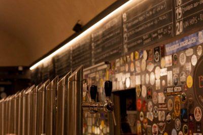 The taps at Bir & Fud