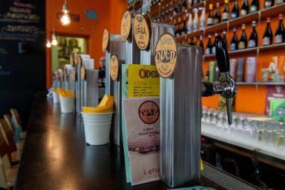 The bar at Open Baladin