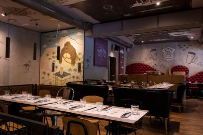 More of the decor of Grand Makeda Grand Pub
