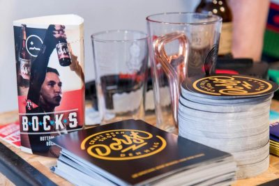 Coasters, flyers and more promotional material of Dorst Craft Beer Shop