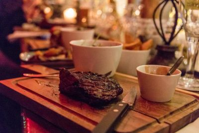 A lovely steak is just one thing on the menu at Rootz