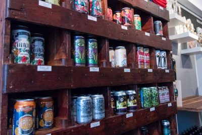 More cans on shelves at Craft & Cans