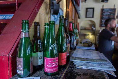 Some of the sours you can get at Café DeRat