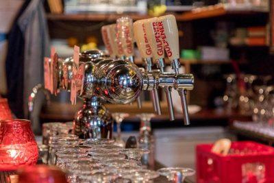The taps at Proeflokaal De Riddert